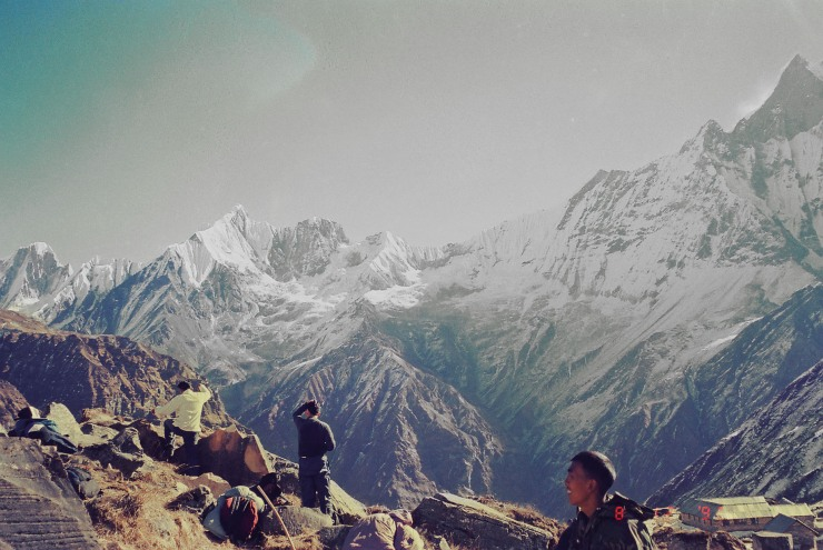 Annapurna Base Camp, Nepal @ 4130 metres above sea level