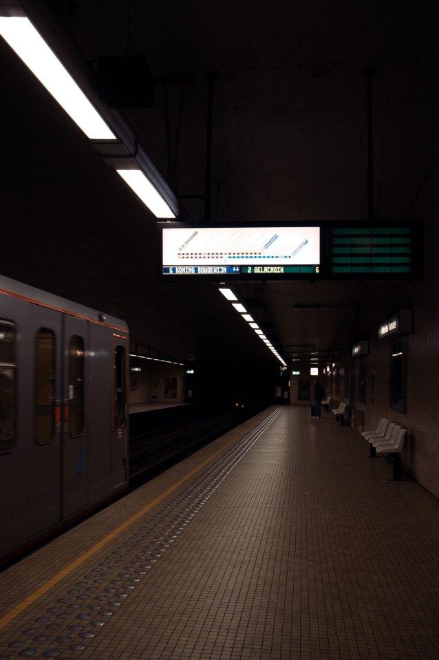 Le premier métro à Hôtel des Monnaies02LF