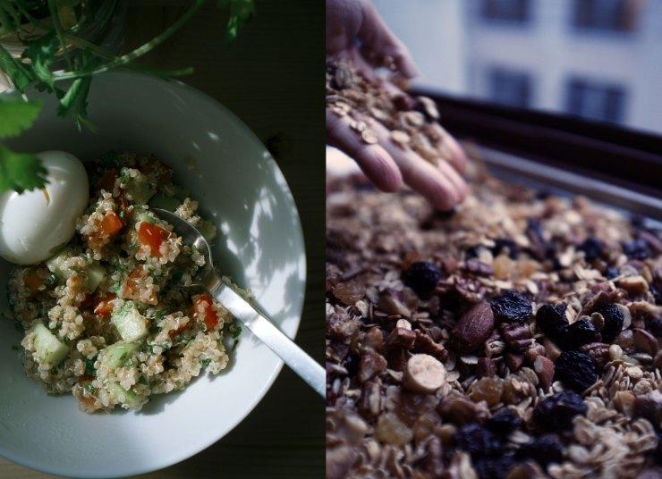 Quinoa Tabouleh + Granola