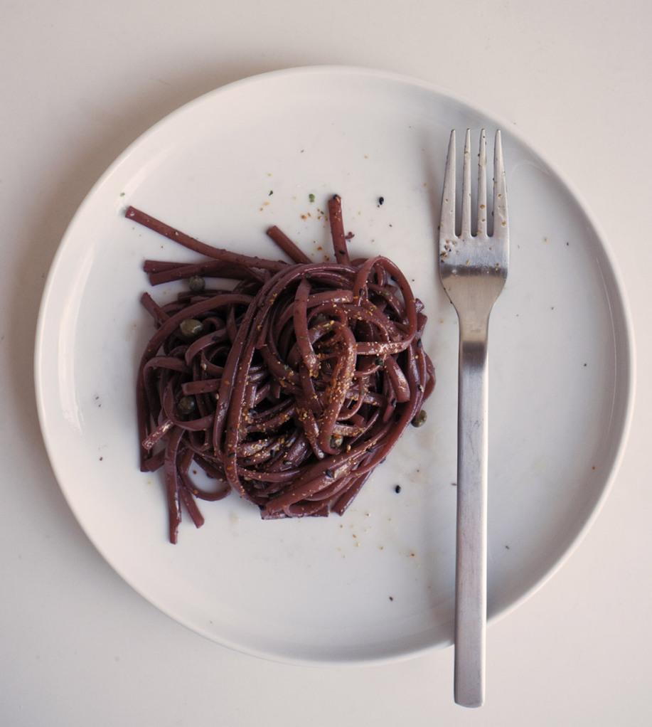 Red wine pasta
