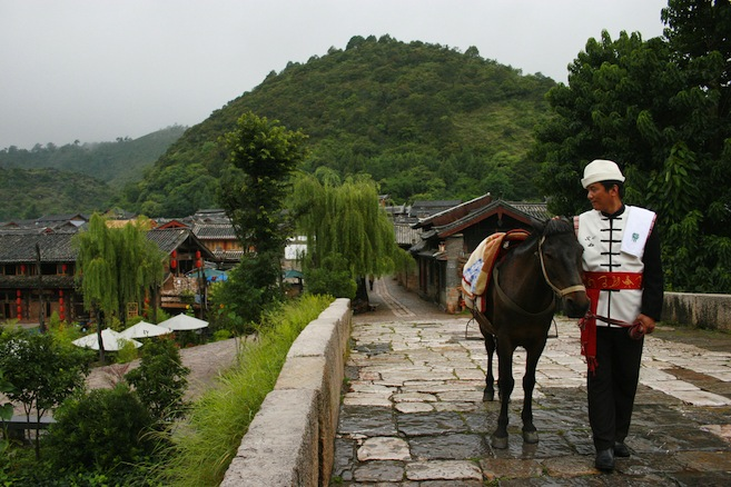 Shuhe 束河: Ancient tea horse road 茶马古道