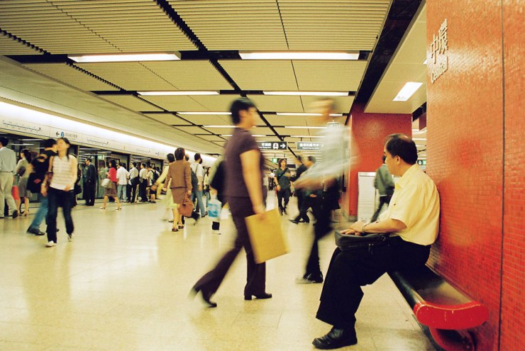 April 2004: Central MTR