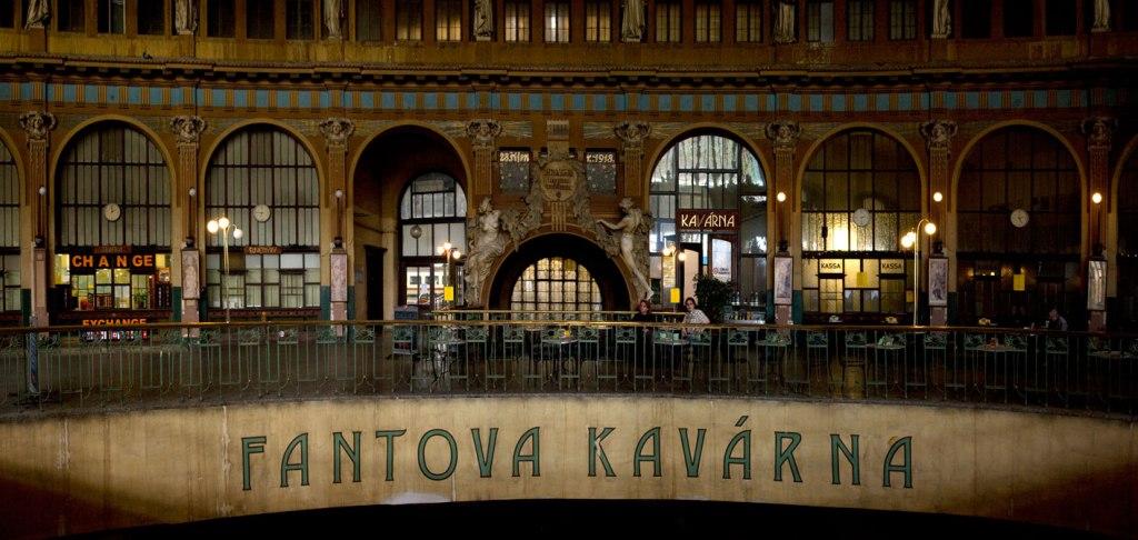 Praha hlavní nádraží - Fantova kavárna