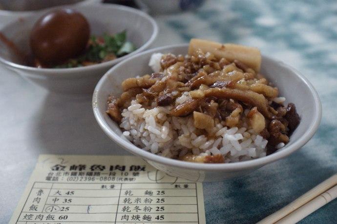 Jin Feng Lu Rou Fan 金峰滷肉飯 @ 10 Roosevelt Rd, Sec 1 羅斯福路1段10號