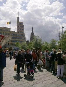 Marché au Place Flagey