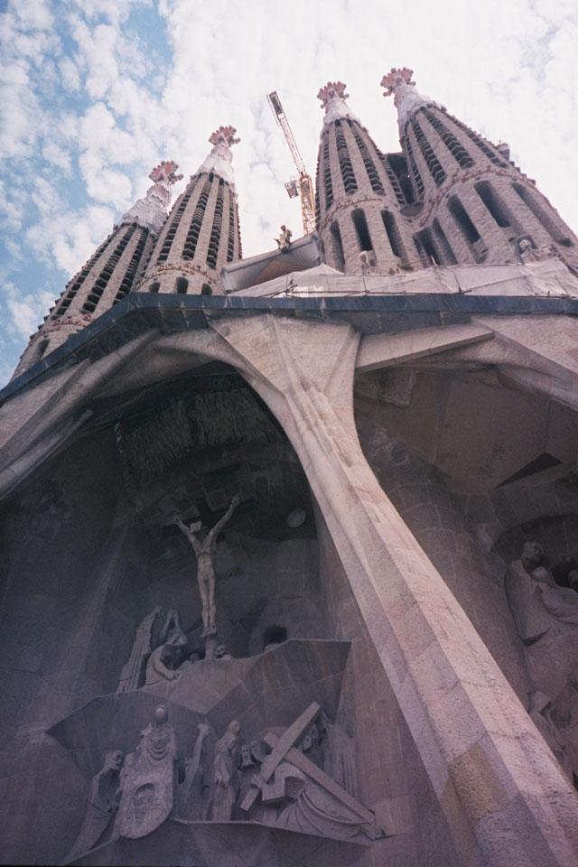 Sagrada Familia69 - Lomo Fuji Superia 400