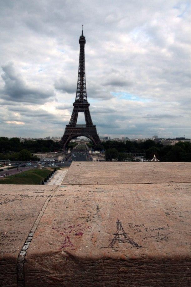 Eiffel from Trocadéro2 - selective levels