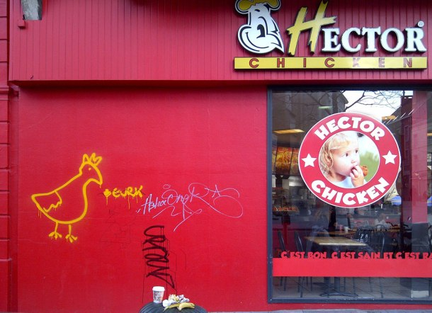 Hector Chicken + Beurk