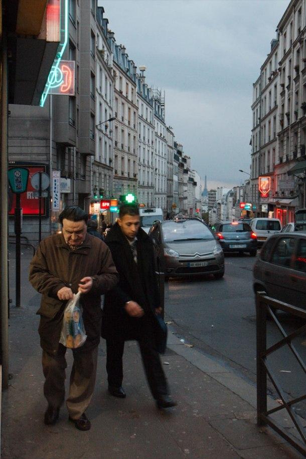 La tour eiffel & la rue de Belleville03k64