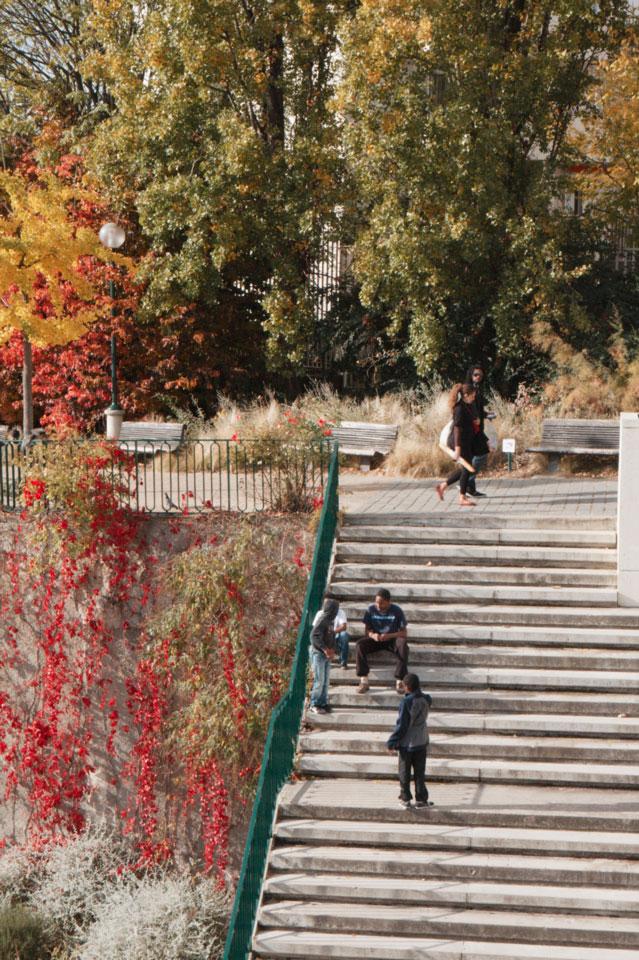 Le parc de Belleville19k64