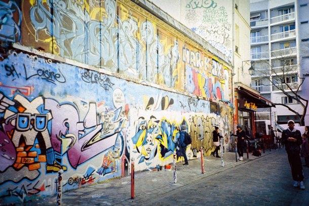 Rue Dénoyez3 - Fuji Sensia 200 e.l