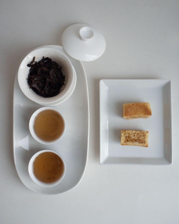 Wang De Chuan - Beipu Oriental Beauty Oolong Tea 北埔白毫乌龙 + Chia Te Bakery 佳德糕餅 pineapple tart03K64