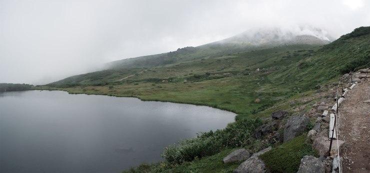 Daisetsuzan National Park 大雪山国立公園 - Asahi-dake 旭岳16-20 - Kagami Pondp160nc