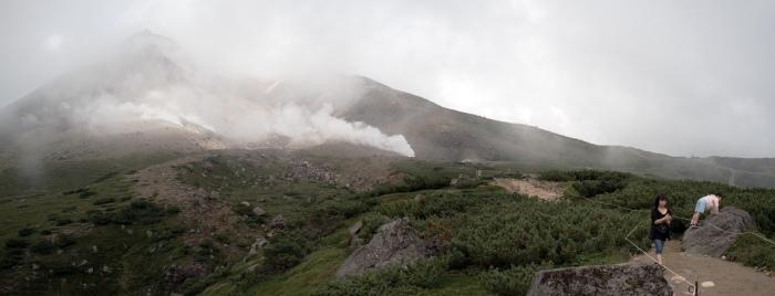 Daisetsuzan National Park 大雪山国立公園 - Asahi-dake 旭岳23-25P160NC