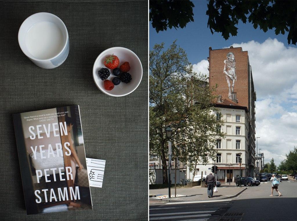 Seven Years, Peter Stamm06k64 + Porte de halle
