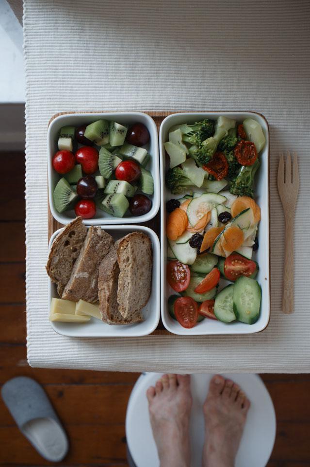 Triple green summer salads lunch03k64