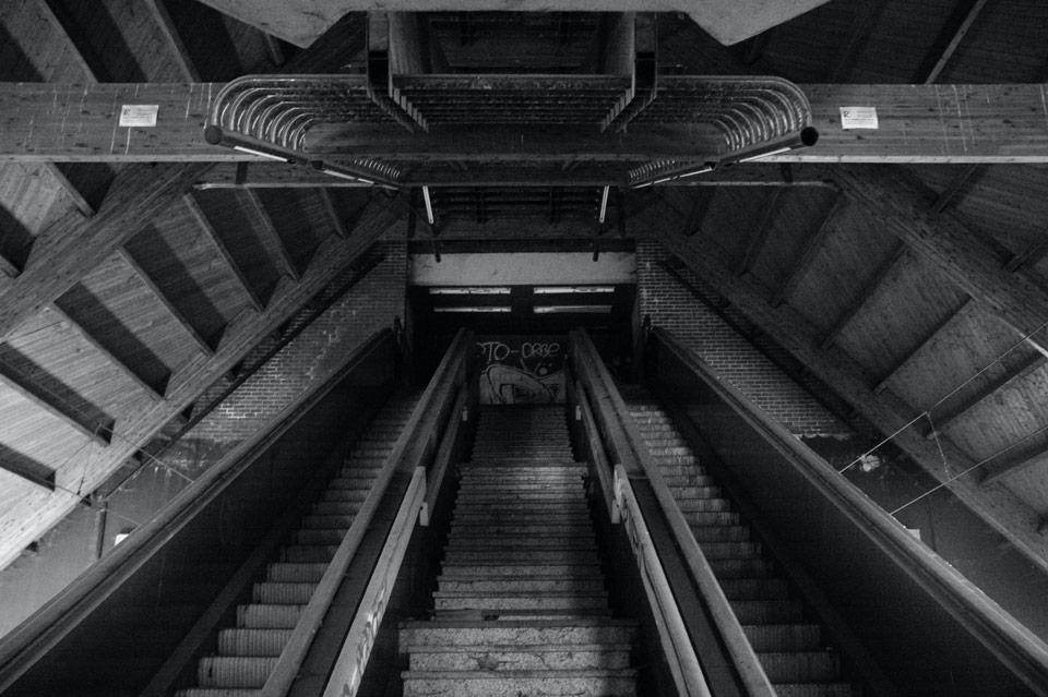 Métro fantome - Pensée17a25bw