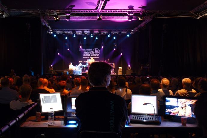 North Sea Jazz Festival08-9 - Sangam feat. Charles Lloyd, Zakir Hussain & Eric Harlandk64