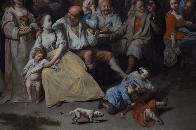 David III Ryckaert's Freuden der Bauern' (Kirmes) 1649 01k64
