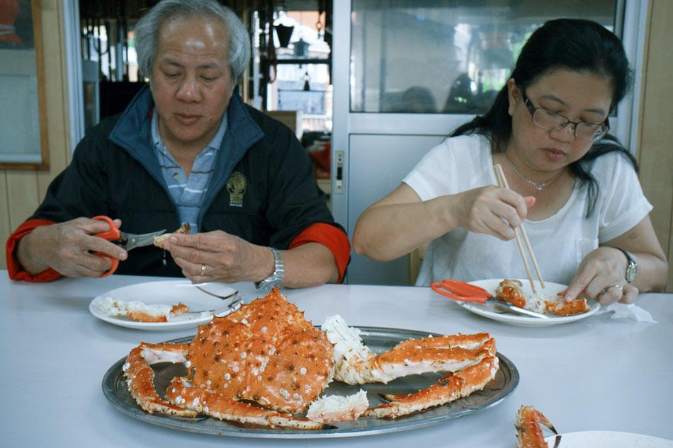 Abashiri 網走 - Oyaji Crabs かにの大内14TC4TC4b