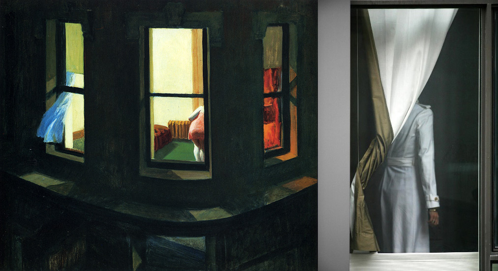 Edward Hopper night windows - Arne Svenson
