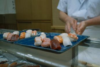 Sushi in Otaru