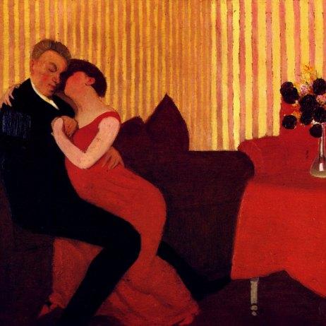 Le Mensonge (The Lie) 1898 / wikipaintings.org