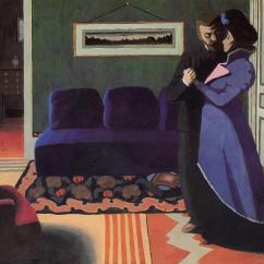 La visite (The visit) 1899 / wikipaintings.org