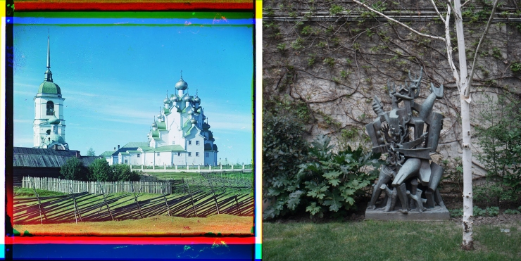 Church of Our Savior and the Protection of the Mother of God. Vytegorskii graveyard + unknown