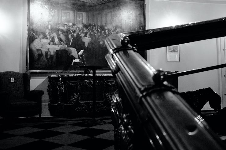 Ein Festabend im Speisesaal 1910 (Hans Stalzer)02a25bw