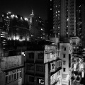 View from 5F, 22-24 Tai Ping Shan St., Sheung Wan08-9a25bw d