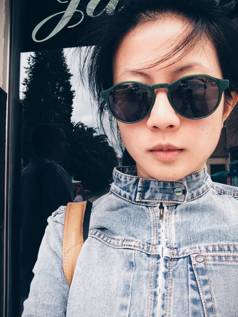 Taken on July 2014: Denim jacket bought in Hong Kong 10 years ago