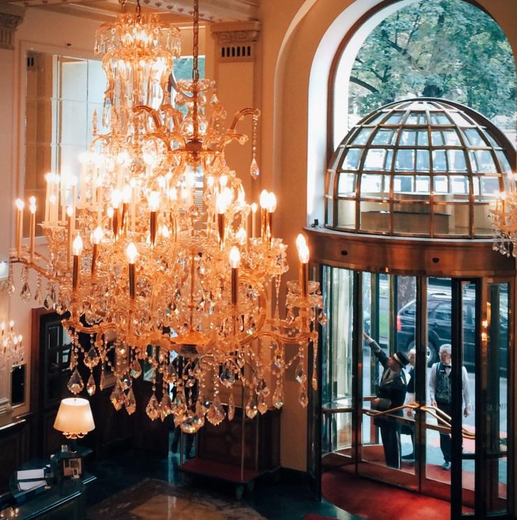Hotel Imperial lobby
