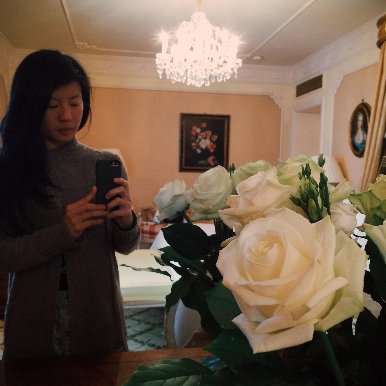 Feeling like a princess in Vienna – Angelina Hue