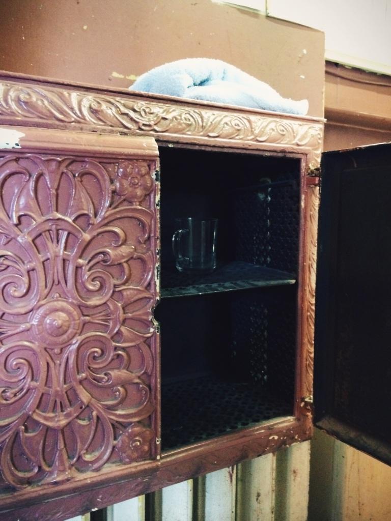 Maison Pelgrims - heated cabinet