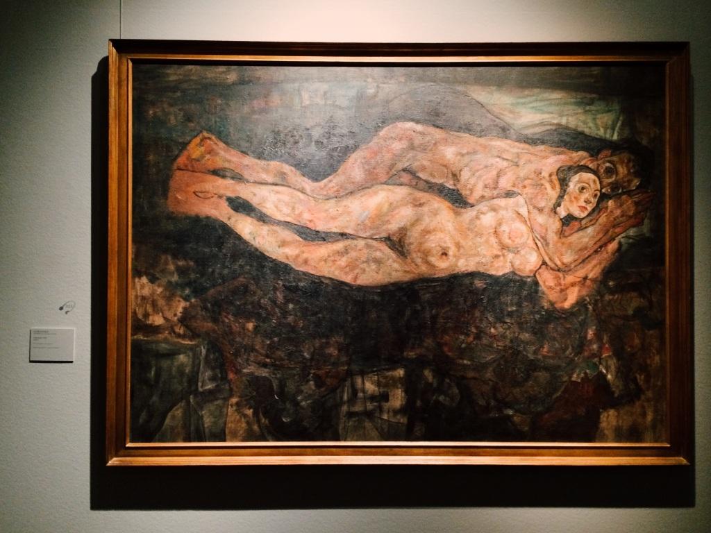 Egon Schiele - Lovers 1918