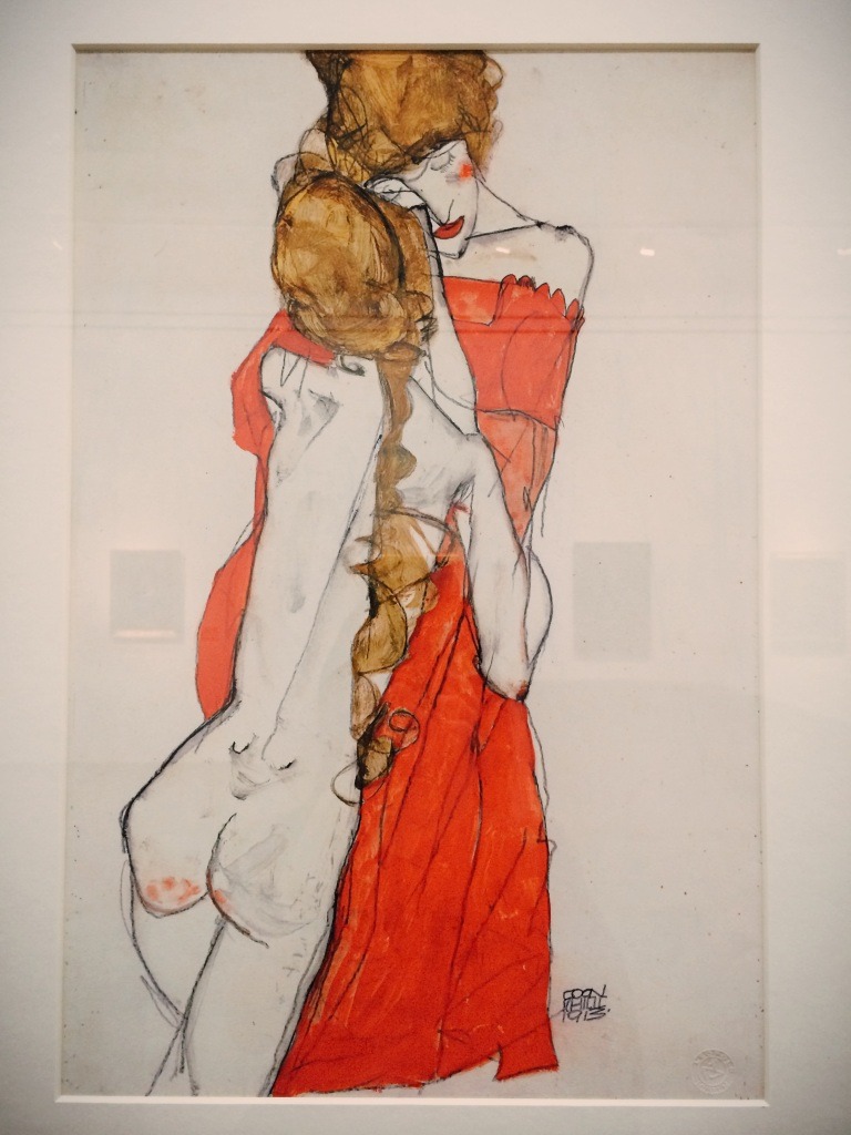 Egon Schiele - Mother and Daughter 1913