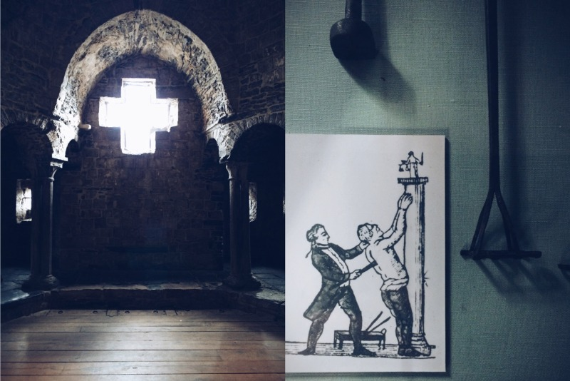 Gravensteen castle - diptych