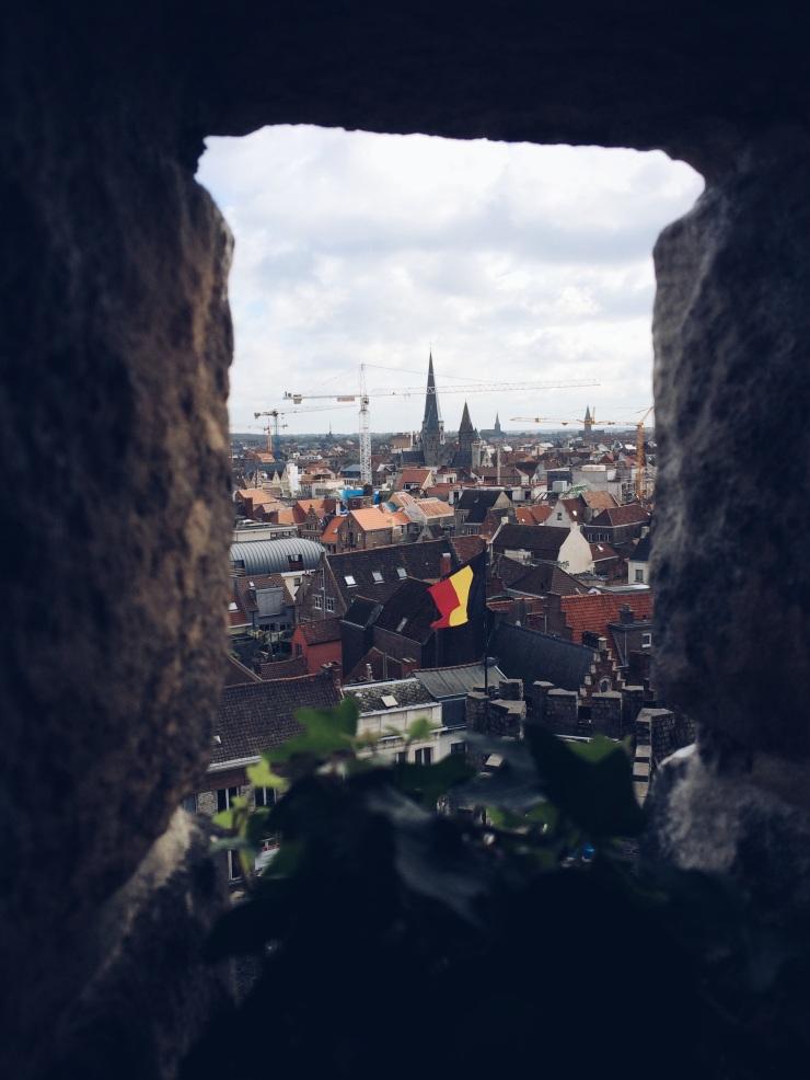 Gravensteen Castle - view