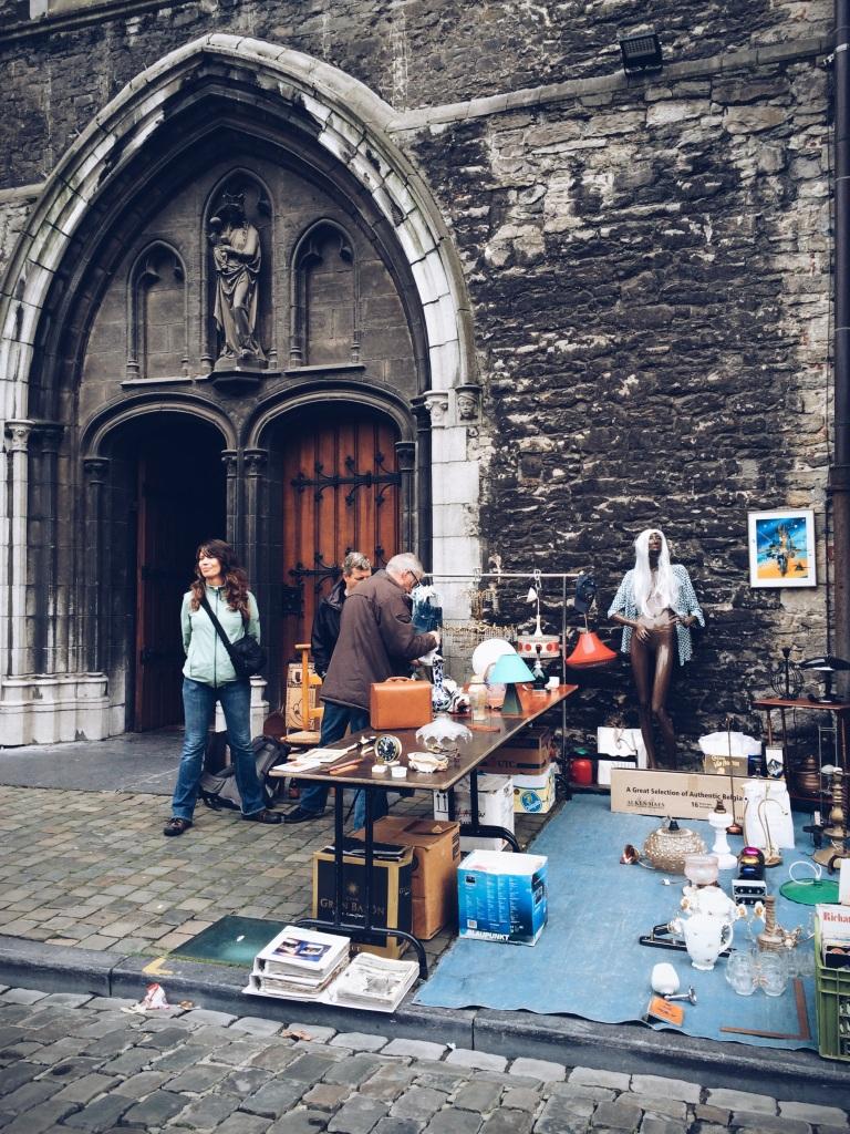 Ghent - flea market