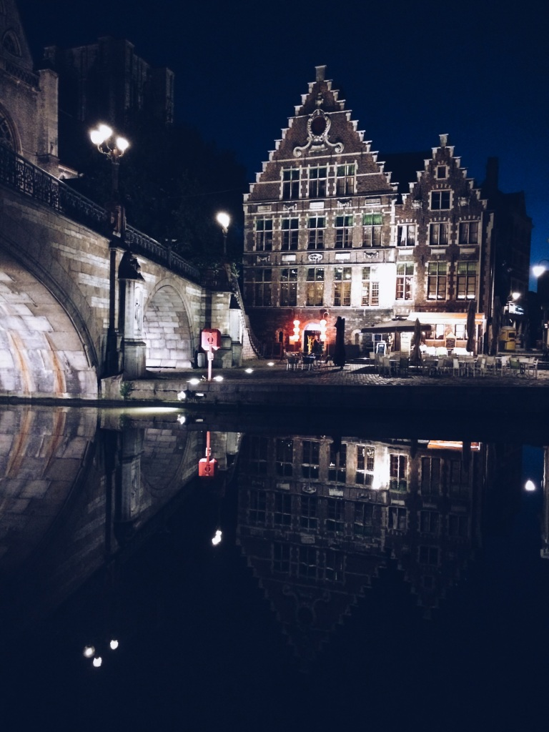 Ghent in the night