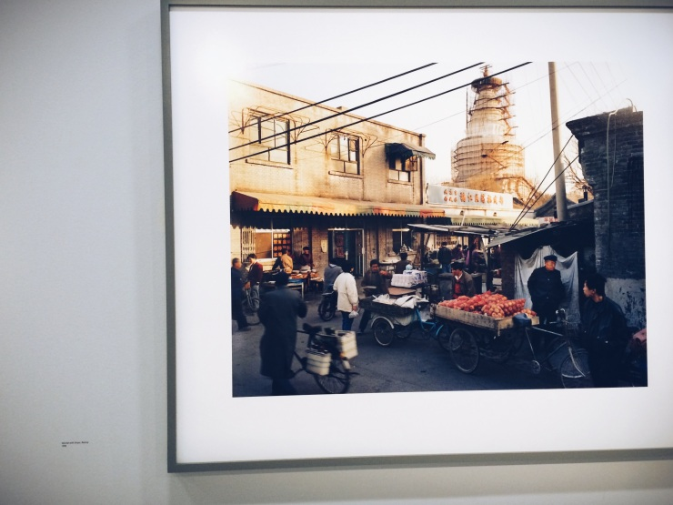 Thomas Struth - Market with Stupa, Beijing 1996