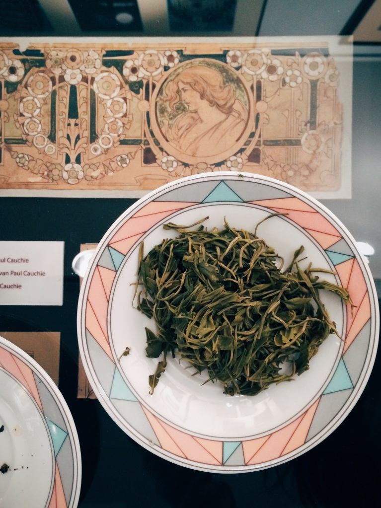 Tea at Maison Cauchie
