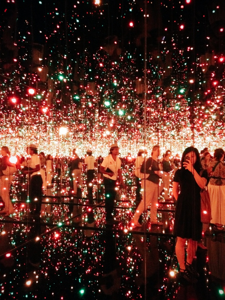 Infinity Mirrored Room — Filled with the Brilliance of Life by Yayoi Kusama