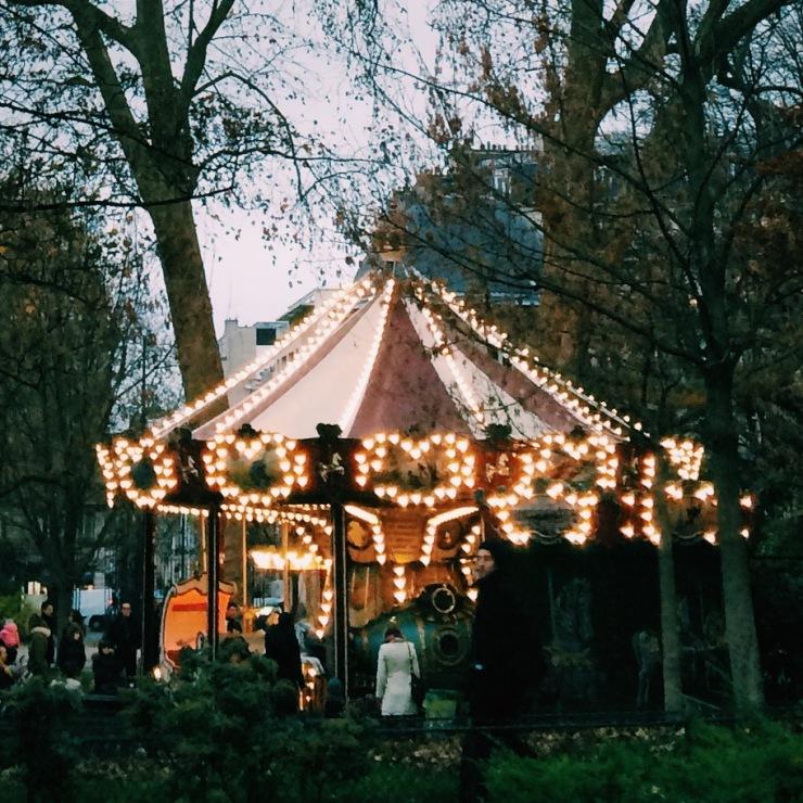 Merry go round @ Parc Monceau, Paris