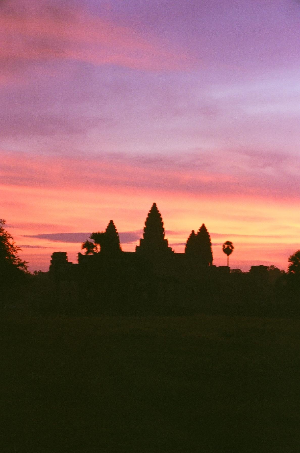 Angkor Wat - sunrise 2004