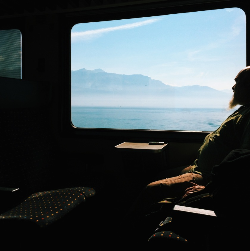 Travelling by train to Verbier