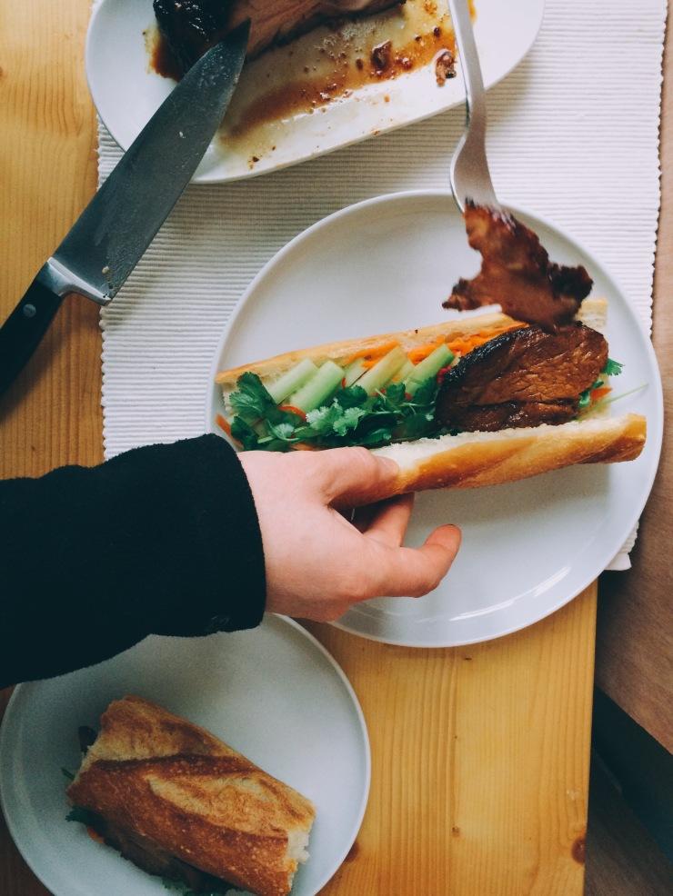 Bánh mì sandwich