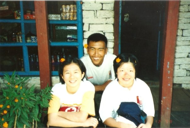Nepal 1998: With Ang Dorje