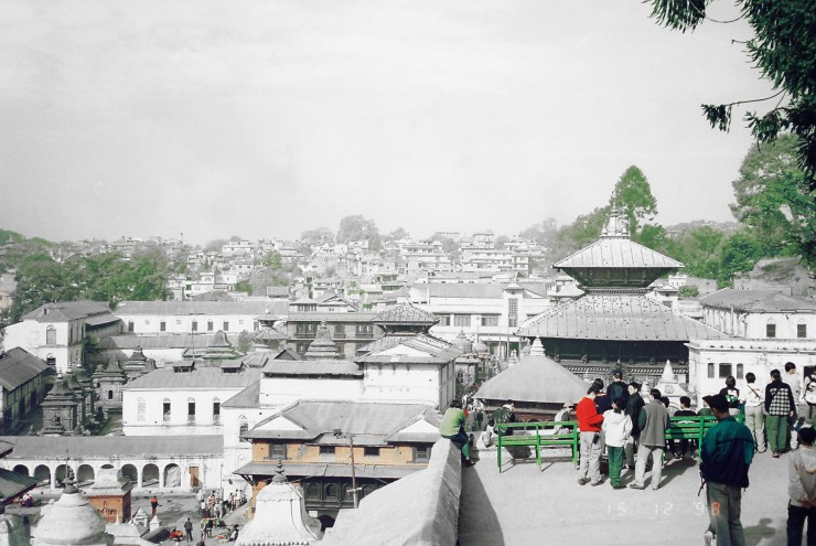 City view: I couldn't adjust the colours to my satisfaction. Decided to remove all the yellow in the photo and ended up with this interesting image which reminds me of old colorised photos taken in Japan